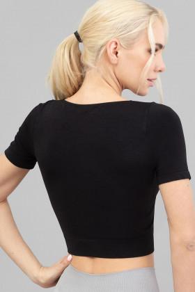 Топ бесшовный с короткими рукавами Giulia Crop T-Shirt