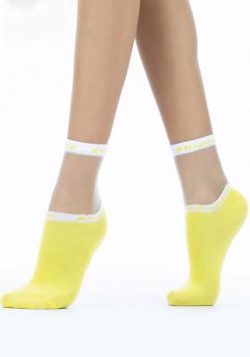 Шкарпетки жіночі прозорі Giulia WS2 CRISTAL 039
