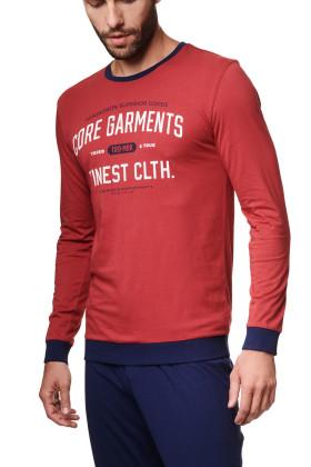 Чоловічий комплект з брюками HENDERSON 39254 AGENT Red