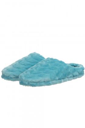 Тапочки женские теплые Naviale 100048 WAVES Aqua