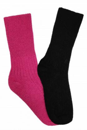 Носки теплые шерстяные в рубчик Lambswool 8011
