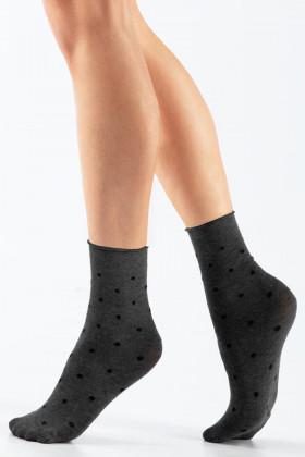 Носочки женские в горох LEGS L1832 CALZINO POIS