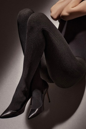 Колготки с геометрическим принтом Marilyn GRACE W03 40d