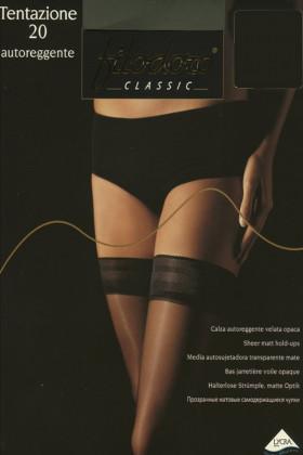 Чулки с гладкой коронкой Filodoro Tentazione 20d