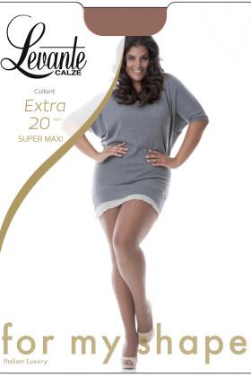 Колготки великого розміру Levante Extra 20 Super Maxi