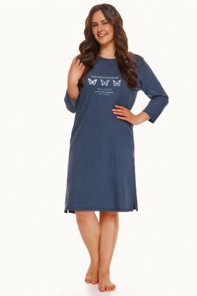 Ночная женская сорочка большого размера Taro Omena 2569
