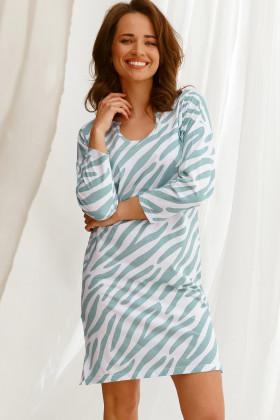 Ночная женская сорочка с рукавом Taro Carla 2568